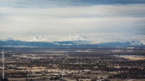 Photo  Three Sister Mountains. Oregon, USA. Three Sister Wilderness Area