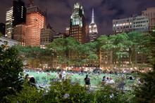 Bryant Park In New York City I...