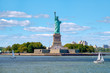 The Statue of Liberty at Liberty Island in New York