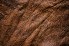 Natural Texture Brown Leather