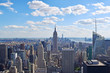 View of New York City from Helicopter