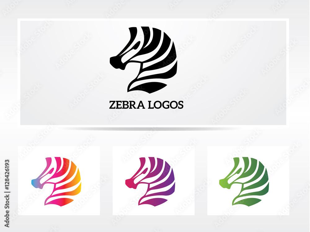 Fototapety, obrazy: zebra logo