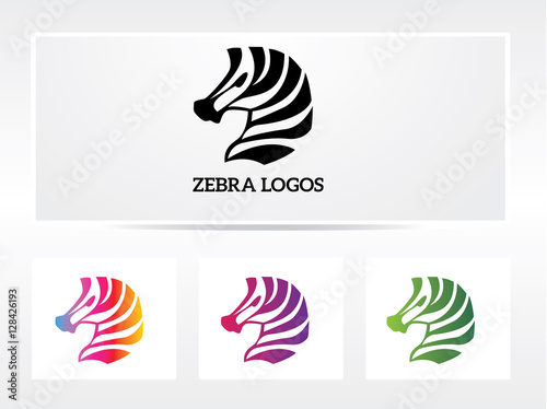 zebra logo - 128426193