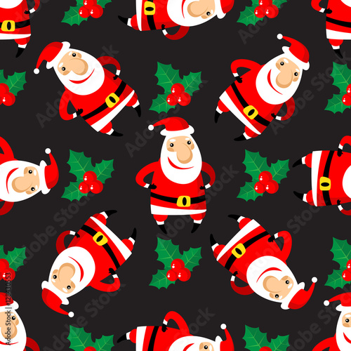 Cotton fabric merry christmas-40
