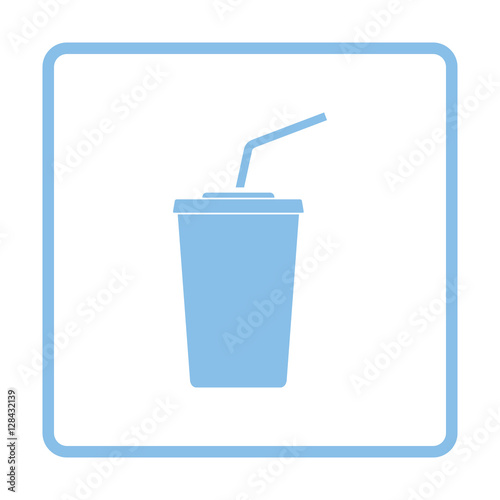 Photo  Cinema soda drink icon