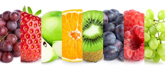 fototapeta zbiór owoców