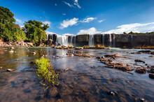 Landscape Of Dray Nur Waterfall In Dak Lak Province, Vietnam.