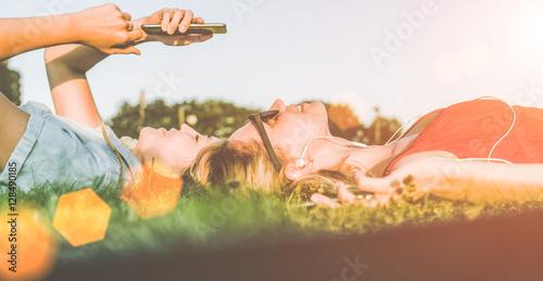 Fotografie, Obraz  Summer sunny evening