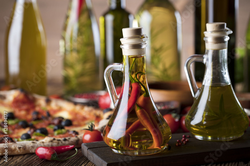 Foto op Canvas Pizzeria Italian food