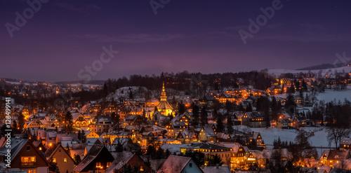 Fotografering  Weihnachten in Seiffen Erzgebirge Sachsen Deutschland