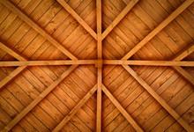 Wooden Cross Roof
