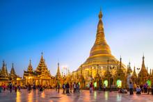Swedagon Pagode In Yangon Myanmar