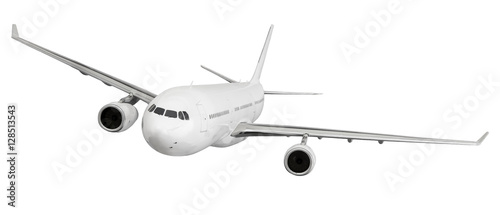 Airplane flying concept. Fototapeta