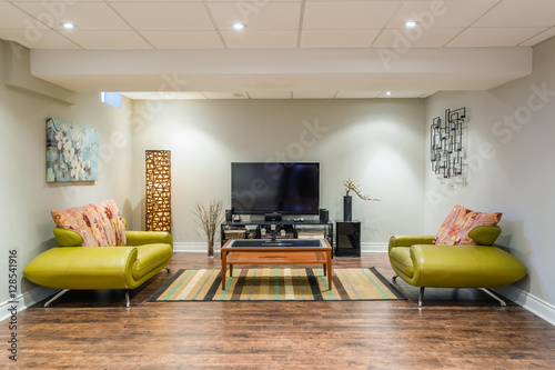 Fotografia  Basement Interior design