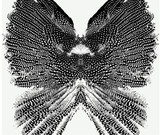 Wings pattern seamless - 128548929