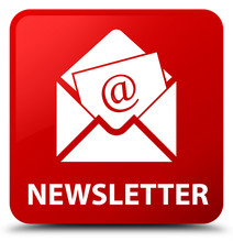 Newsletter Red Square Button