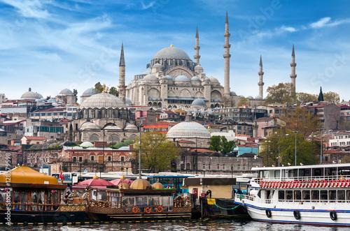 Aluminium Prints Turkey Istanbul the capital of Turkey, eastern tourist city.