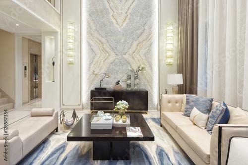 Fotografía  interior of modern living room