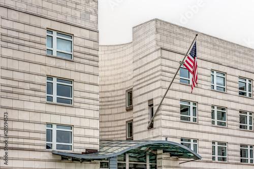 Zdjęcie XXL Ambasada Stanów Zjednoczonych Ameryki w Berlinie, Niemcy