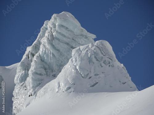 Deurstickers Antarctica glacier close-up