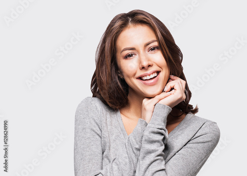Fotografia  Beautiful young woman portrait