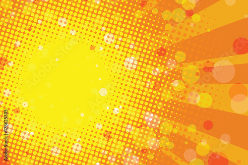 Sunny summer tropical abstract background
