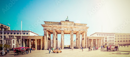 Berlin, Brandenburger Tor Canvas Print