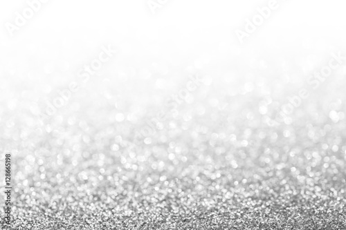 Fotografía  Abstract glitter silver background