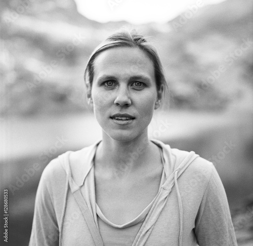 A portrait of a woman, Colorado.