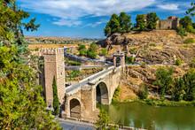 The Alcantara Bridge In Toledo...