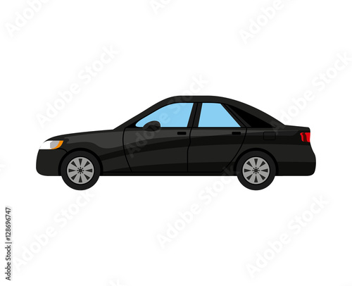 Staande foto Cartoon cars car auto vehicle isolated icon vector illustration design
