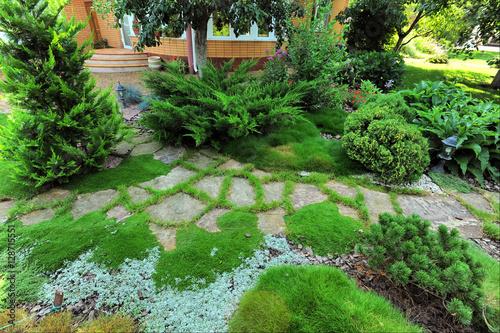 Staande foto Tuin landscape design