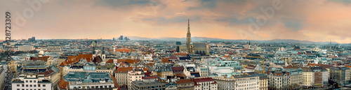 vienna city panorama austria Wallpaper Mural