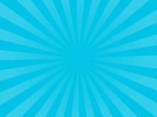 Sunburst Background Horizontal Vector