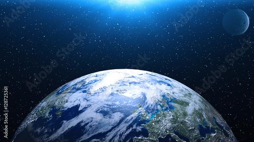 Fototapeta  Planet Earth in space