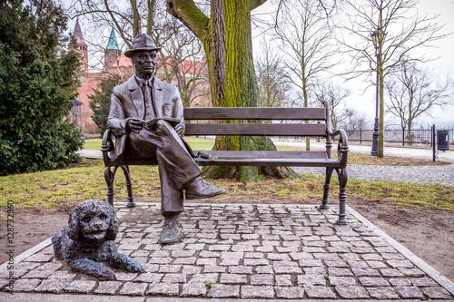 Valokuva  Jakub Chojnacki statue