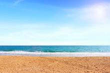 Beautiful Sea Under The Afternoon Sun Light