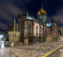 Edinburgh, Scotland:  St Giles Cathedral