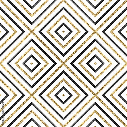 geometryczny-wzor-zloty-i-czarny-ukosne-linie-lub-uderzen-streszczenie-tlo-zloty-blyszczacy-i-czarny-romb-kwadrat