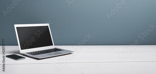 Fotografia, Obraz  Laptop mockup