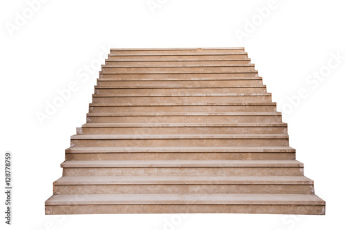 Papiers peints Escalier stone steps isolated