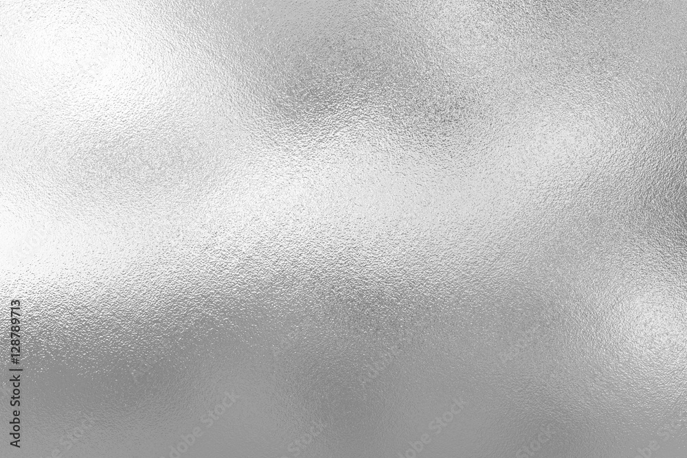 Silver foil texture background