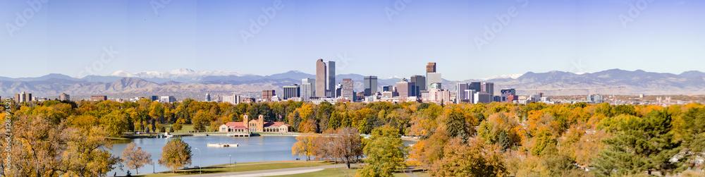 Fototapeta Denver Skyline