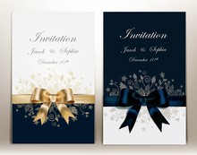 Two Pretty Wedding Invitation ...