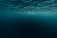 Underwater Shot Of Sea Surface...
