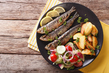 Grilled Sardines With Roasted ...