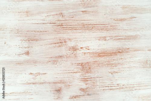 Foto-Tapete - Shabby chic wooden texture. top view (von stillforstyle)