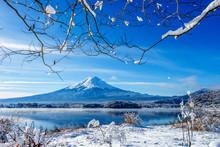 Mt.Fuji At Kawaguchi Ko Lake