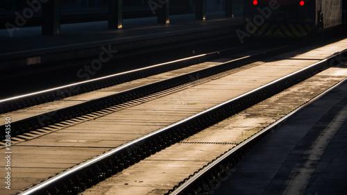 Cuadros en Lienzo Train station in Milan - Italy