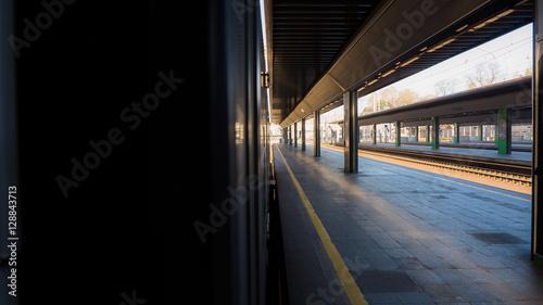 Fotomural Train station in Milan - Italy